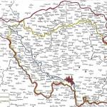 Karte Grenze von 1919 - 1935