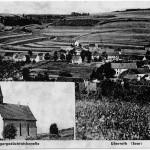 Postkarte Überroth 1940