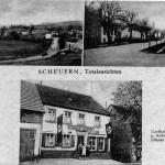 Postkarte Scheuern 15.05.1940