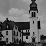 Postkarte Scheuern-Kirche