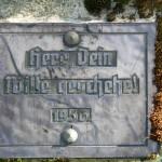Überroth-Niederhofen - Kreuz Nr 8 Inschrift 1956