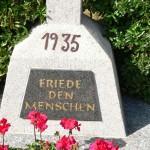 Überroth-Niederhofen - Kreuz Nr 9 Inschrift 1935