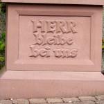 Neipel - Kreuz Nr 20 Inschrift