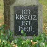 Scheuern - Kreuz Nr 24 Inschrift