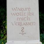 Scheuern - Kreuz Nr 28 Inschrift