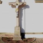 Scheuern - Kreuz an der Kirche